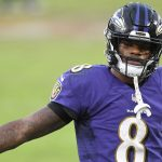 Baltimore Ravens QB Lamar Jackson tests positive for coronavirus, according to report