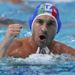 Italy wins rematch with US in men's Olympic water polo